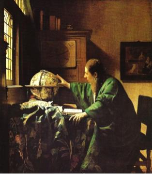 L'Astronome ou plutôt L'Astrologue, Johannes Vermeer