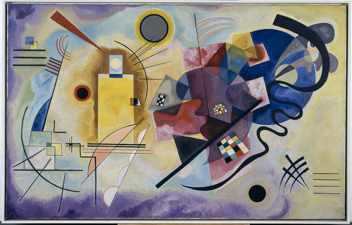 Huile sur toile, 128 x 201, 5 cm Centre national d'art et de culture Georges-Pompidou, Paris Donation Nina Kandinsky 1976 AM 1976-856 © Adagp, Paris 2007 © Photo CNAC/MNAM Dist. RMN / © Adam Rzepka