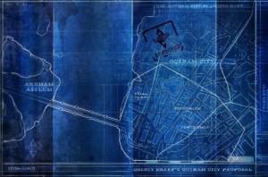 Blueprint Arkham City
