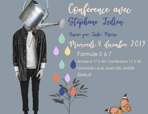 Conférence avec Stéphane Ledien